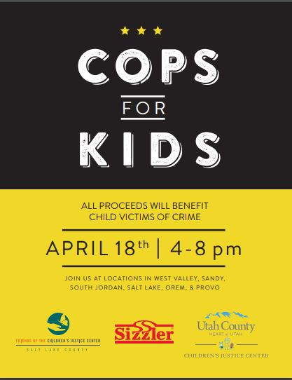 SIZZLER COPS FOR KIDS